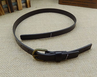 1 PCS, Geniune Cow Leather / Dermis Adjustable Shoulder Bag Purse Tote Handle Strap, #441