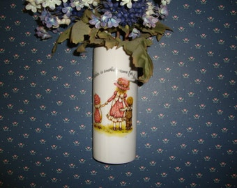 Holly Hobbie Vintage Wall Pocket - Vase