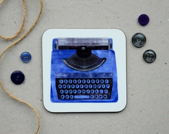 Typewriter Coaster