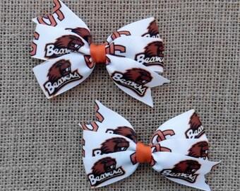 Oregon State Beavers Bow Set