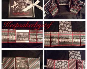 Flip Fold Photo Album - Christmas Album