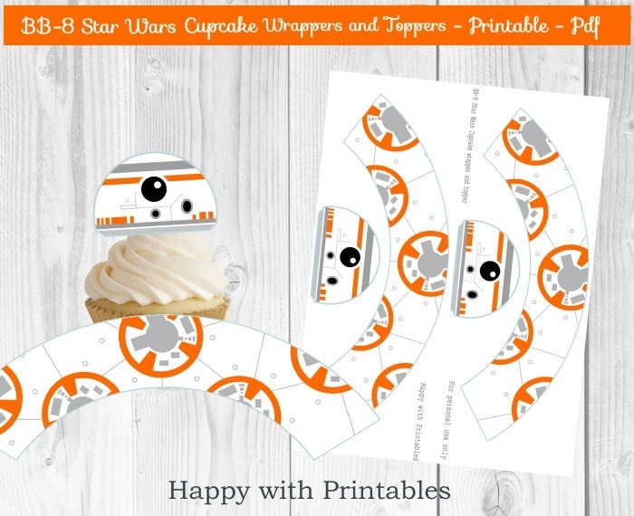 Adorable image regarding bb 8 printable