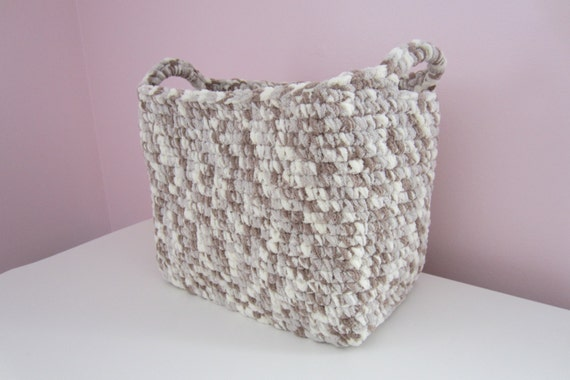 Towel Storage Basket Large Bin For Bathroom Amp By Maybe4you
