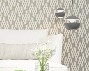 Wall Stencil - Decorative Seamless Pattern Wall Stencil