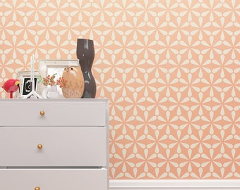 Decorative Stencil For Wall - Seamless Wall Stencils - Wall Decor Idea