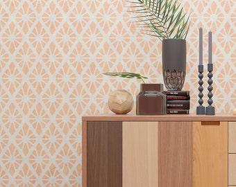 Decorative Wall Stencil - Classic Wall Stencil - Seamless Pattern Wall Stencil