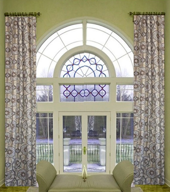 Suzani sale custom made drapes small window curtains through for Long windows for sale