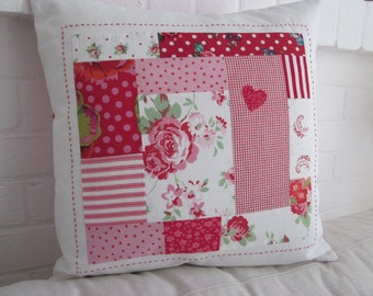 """Patchwork Cushion Cover  - 16"""" x 16"""""""