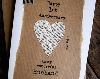 First year anniversary cards for him u adult dating