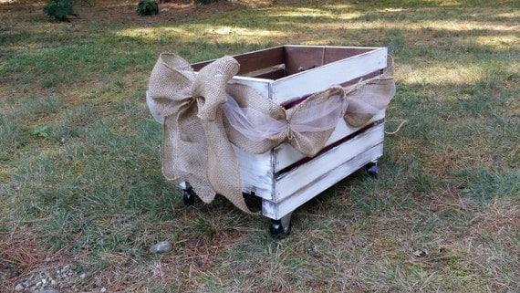 Flower-Girl-Wagon - Elizabeth Anne Designs: The Wedding Blog |Flower Girl Wagon Wedding Party