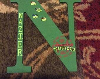 Teenage mutant ninja turtles letters