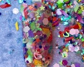 Nail Art Acrylic Gel Glitter Mix   Girl Next Door   Limited edition