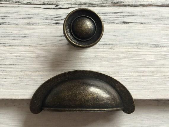 Cup bin drawer pulls handles dresser pull handle for 70mm cabinet pulls