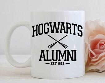 Harry Potter mug, Hogwarts Alumni, dishwasher safe