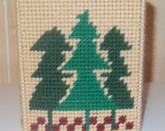 Trees  Tissue Box  Cover