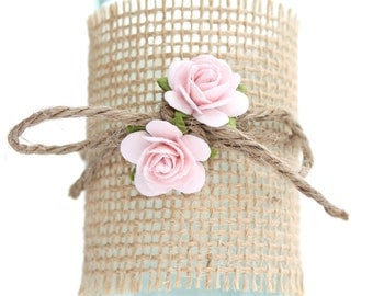 Pale pink roses, flower embellishments - decorations for favors, cards, thank you tags, gift tags, wedding decorations and more