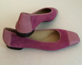 Vintage Bruno Magli Pink Women's Shoes Size 7.5