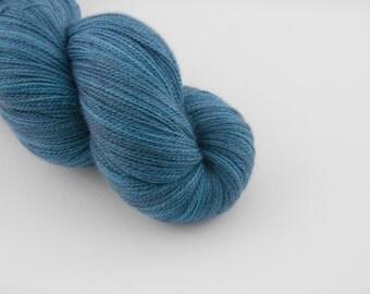 Ingénue Lace,Eaux sombres, merino silk , 100g