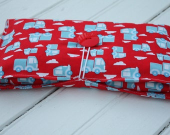 Travel Changing Pad and Diaper Clutch