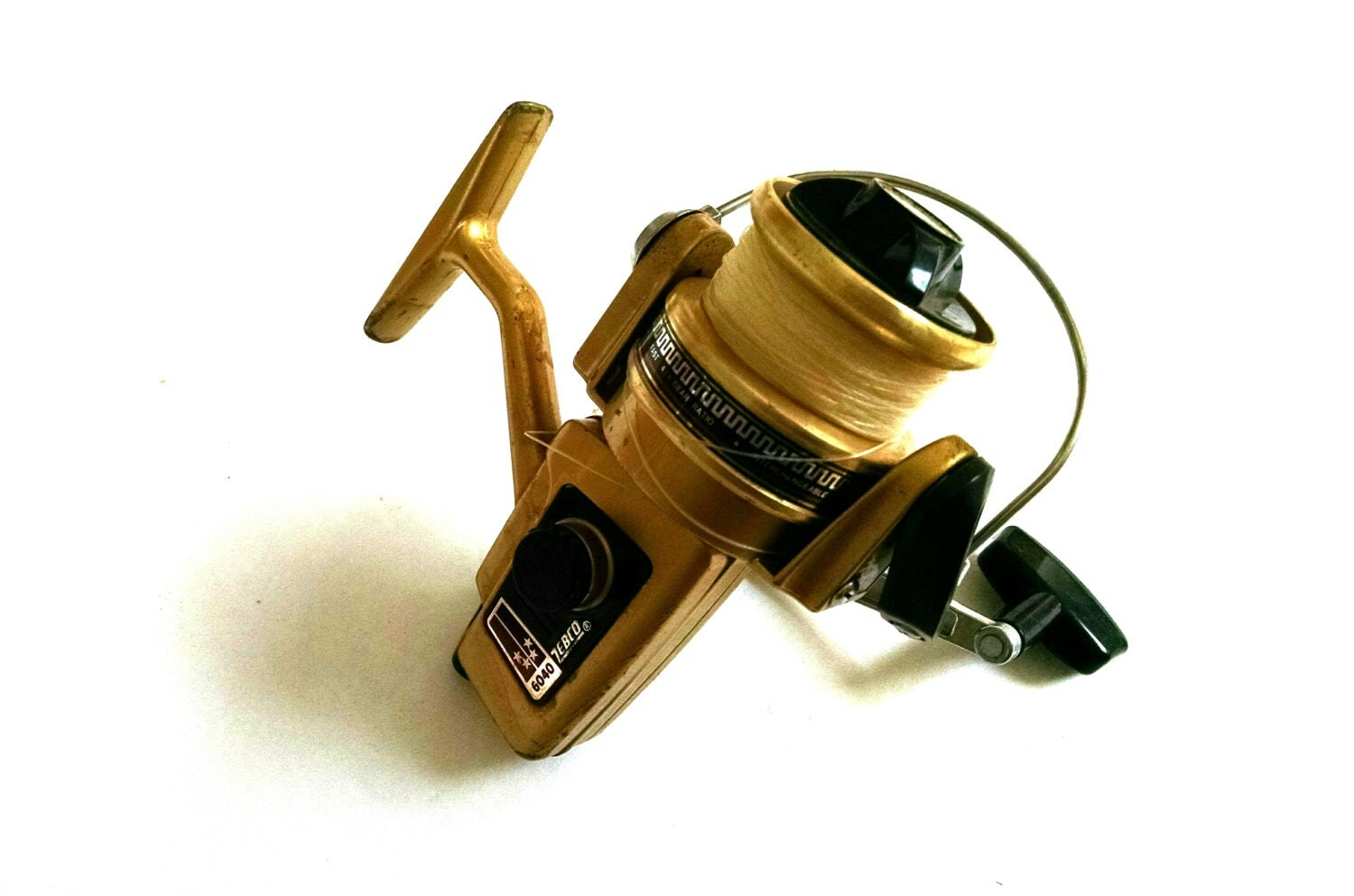 how to thread open face fishing reel