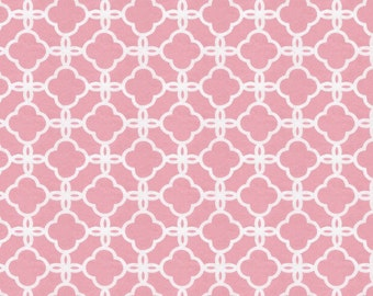 Coral Pink Sunburst Fabric - By The Yard - Girl / Modern / Fabric