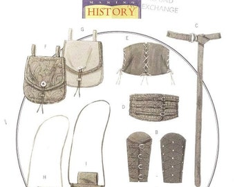 Butterick 5371 Misses' and Men's Medieval Accessories Sewing Pattern