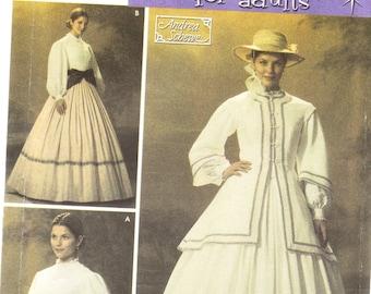 Simplicity 4900 Misses' Civil War Costume Pattern, 10-18