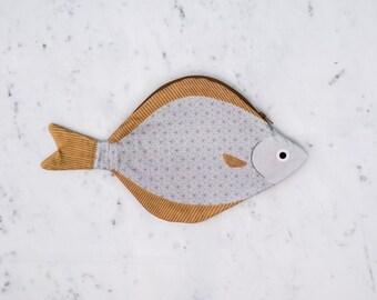 HALIBUT - Case fish - 100% cotton