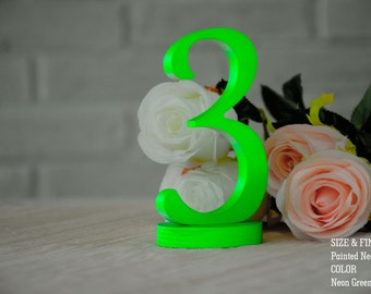 Wedding Table Numbers, SET 1/20, Elegant Wedding Table Numbers, Gold Table Numbers, Silver Table Numbers