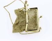 14K Gold Chain-link Purse/Coin Bag