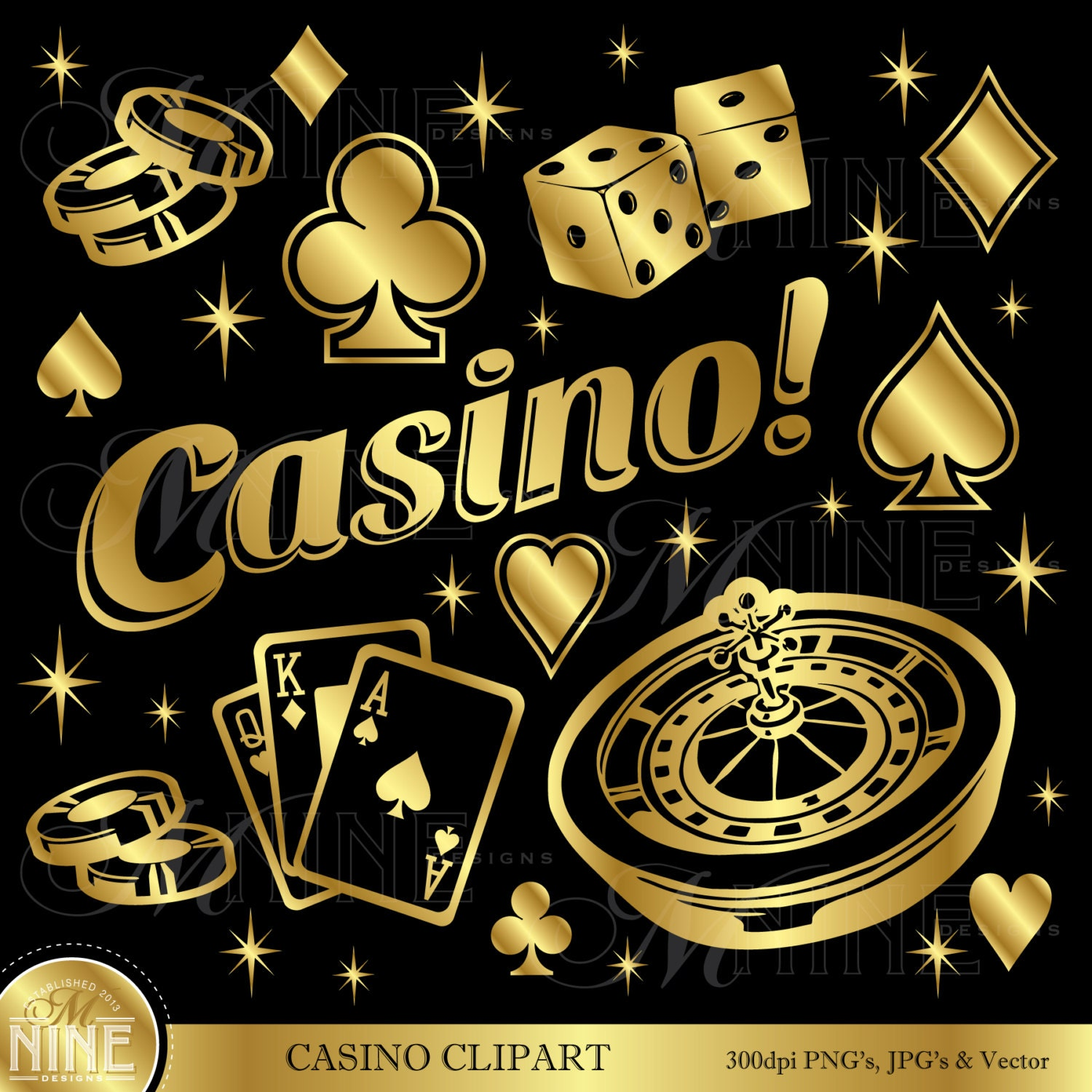 GOLD CASINO Clipart: Casino Clip Art Casino Download Vegas