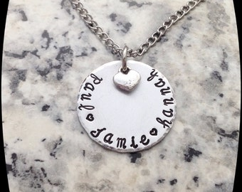 Gift For Her, Name Jewelry, Gift For Grandma, Gift For Mom, Kids Name Necklace, Mommy Jewelry