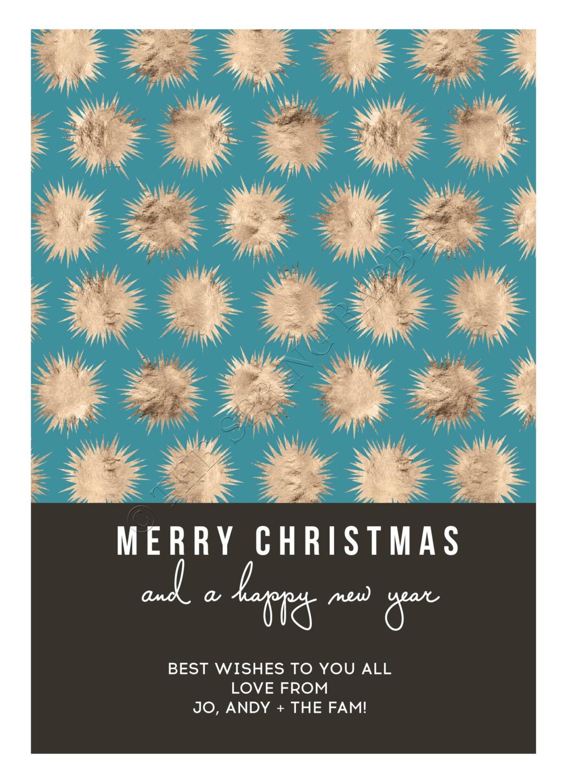 Printable modern star christmas card holiday card 5 x7 do it printable modern star christmas card holiday card 5 x7 do it yourself customizable solutioingenieria Gallery