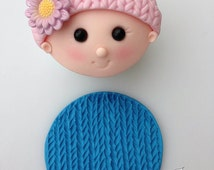 Knitted Silicone Embossing Mat