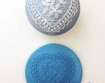 Sweetheart Applique Mat Silicone Embossing Mat