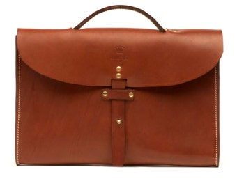 Briefcase J.W&S in chocolat