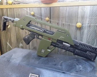 DIY M41a Pulse Rifle from Aliens