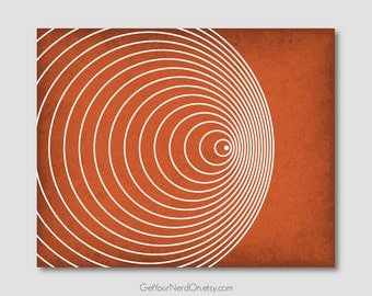 Science as Art - Doppler Effect Print - Available as 8x10, 11x14 or 16x20