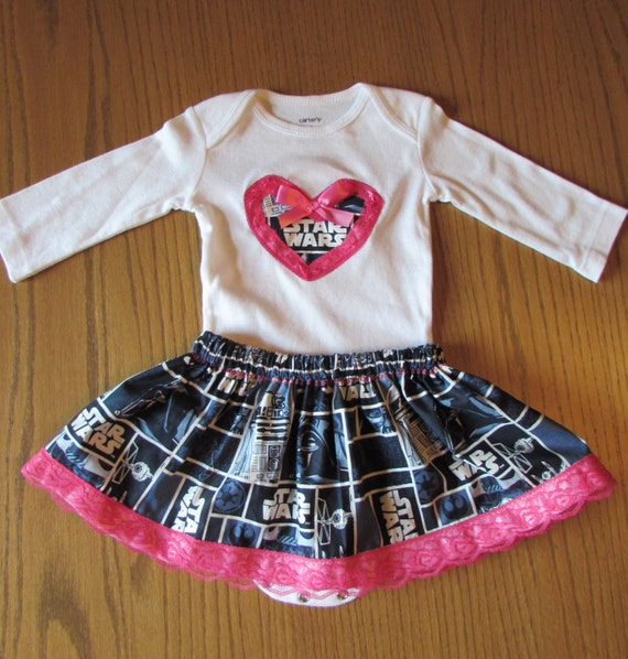 Star Wars baby outfit /girls Star Wars outfit/baby Star Wars/baby outfit/baby girl Star Wars/girls Star Wars dress/baby girl Star Wars dress