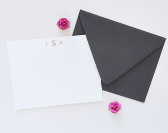 Personalized Stationery Set Mothers Day Gift Graduation Gift Personalized Stationary Monogrammed Stationary