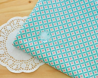 Laminated Cotton Fabric Mint By The Yard