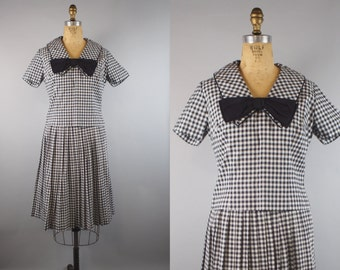 1950s Gingham Skirt and Blouse