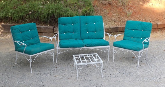 Mid Century Modern Patio Furniture White By