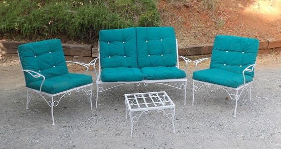 Mid Century Modern Patio Furniture White by MakingMidCenturyMod