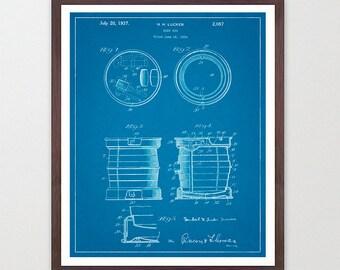 Beer Poster - Beer Patent - Beer Art - Beer Patent Print - Vintage Beer Keg - Beer Design - Home Brew - Home Brewing Poster - Beer Decor