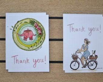 Thank You Card (Pack of 4)