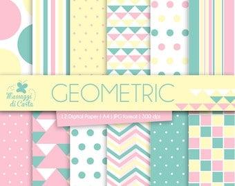 Geometric - Digital Paper