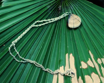 Wire Wrapped Ombre Bahia Shell Necklace