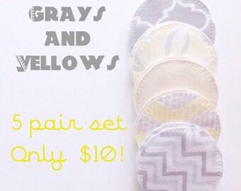 Cloth nursing pads, eco friendly, maternity, breastfeeding, reusable nursing pads, flannel