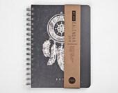 Planner 2016 September - 2017 September. Weekly Calendar Diary Day Journal Spiral A5 Dreamcatcher Kalendar Kalender Calendrier Dated/Undated